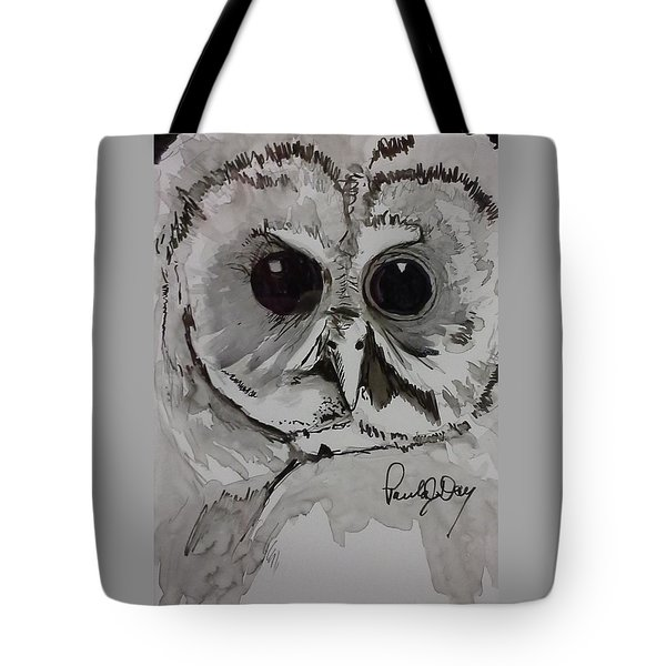 Owl Eyes Two Tote Bag