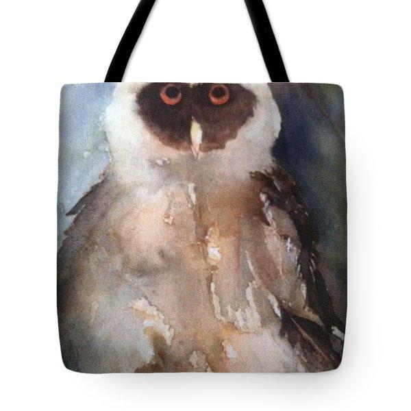 Owl Tote Bag by Sherry Harradence