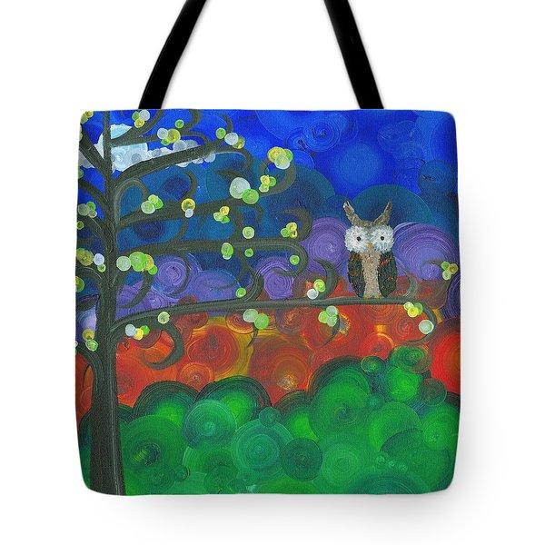 Owl Singles - 04 Tote Bag