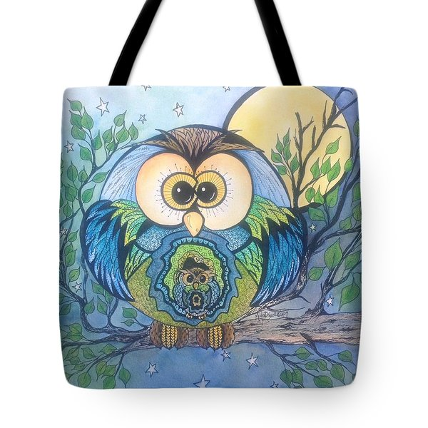 Owl Take Care Of You Tote Bag