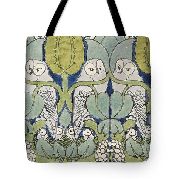Owls, 1913 Tote Bag