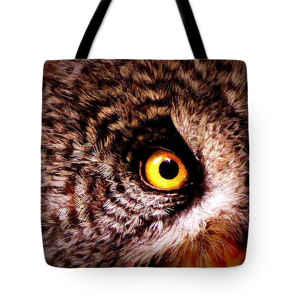 Owl's Eye Tote Bag