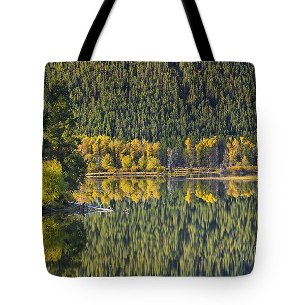Oxbow Abstract Tote Bag