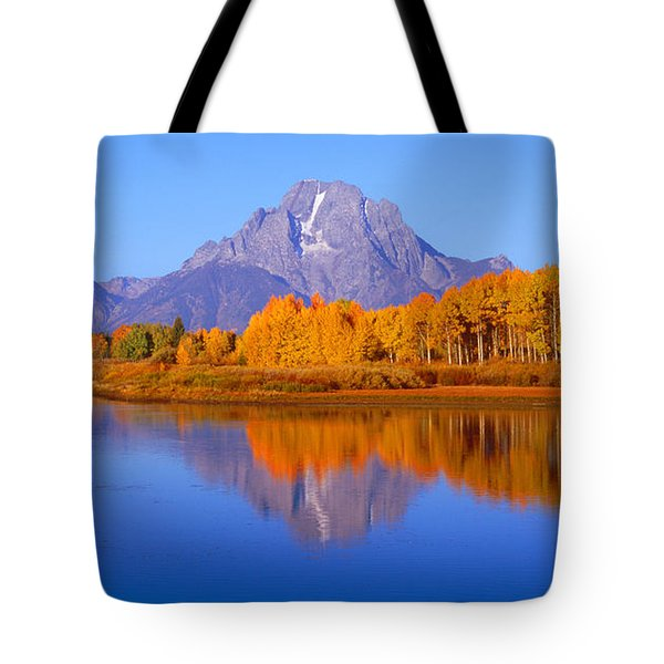 Oxbow Bend In Grand Teton Tote Bag
