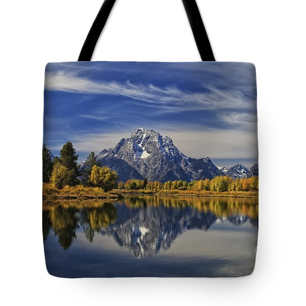 Oxbow Reflections Tote Bag