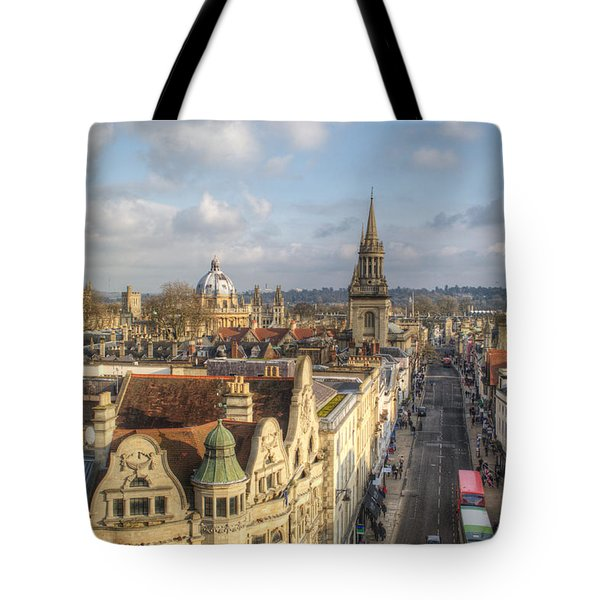 Oxford High Street Tote Bag