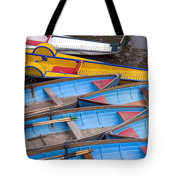 Oxford Pleasure Boats Tote Bag