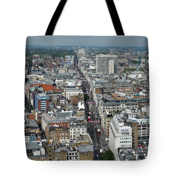 Oxford Street Vertical Tote Bag by Matt Malloy