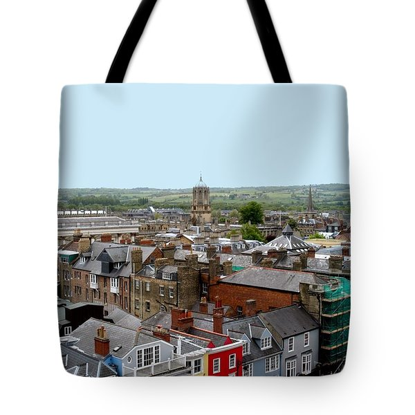 Oxford Town Tote Bag by Joseph Yarbrough