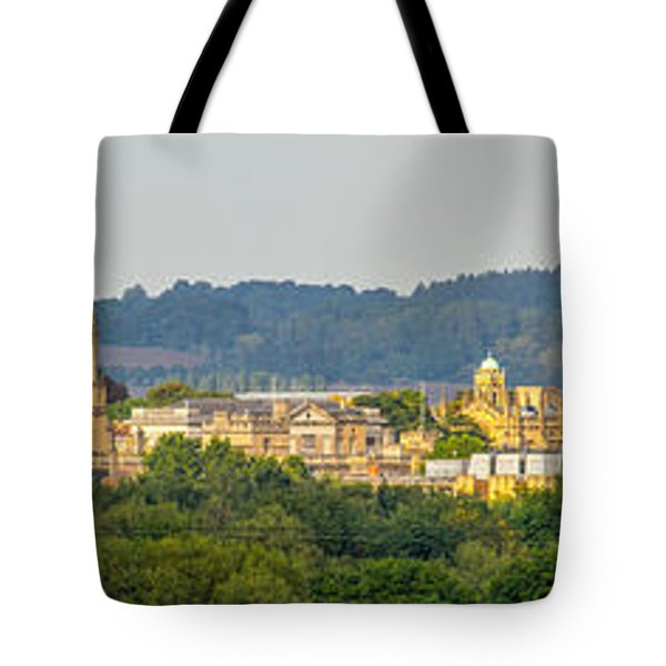 Oxford University Panorama Tote Bag