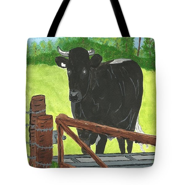Oxleaze Bull Tote Bag