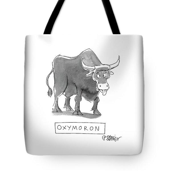 'oxymoron' Tote Bag
