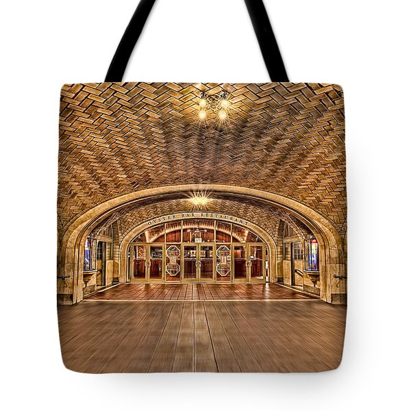 Oyster Bar Restaurant Tote Bag