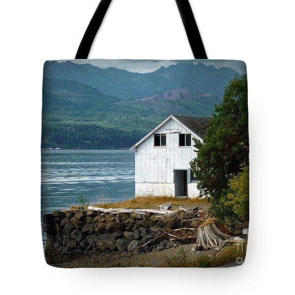 Old Oyster Shack Tote Bag