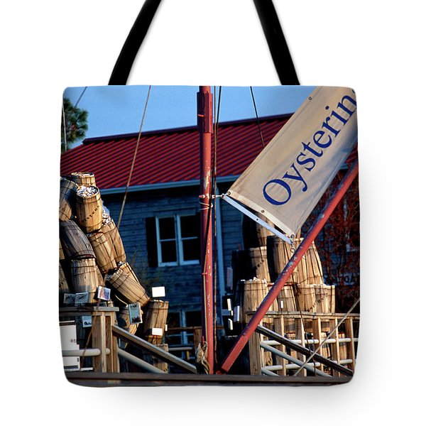 Oystering History At The Maritime Museum In Saint Michaels Maryland Tote Bag