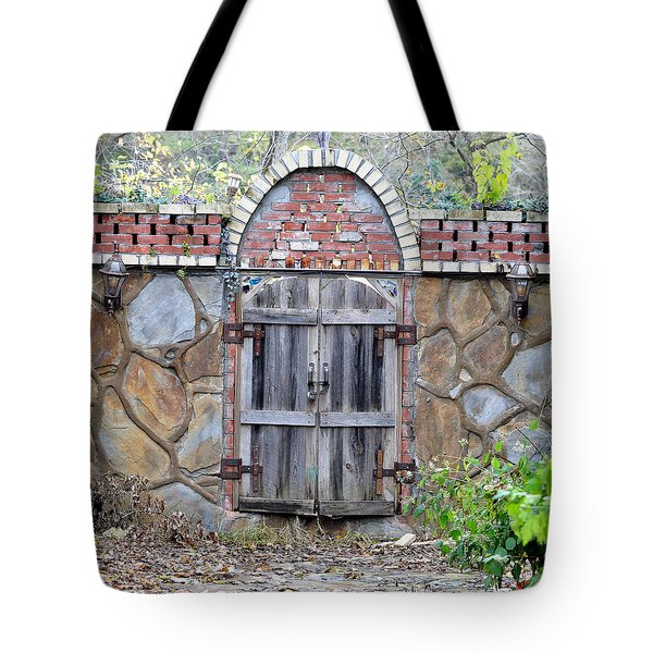 Ozark Gate Tote Bag by Jan Amiss Photography