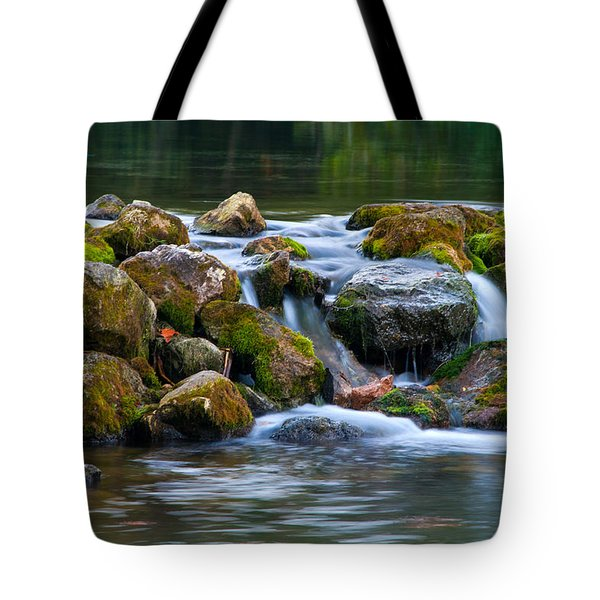 Ozark Waterfall Tote Bag