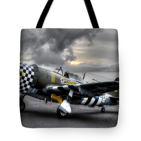 P-47 Sunset Tote Bag