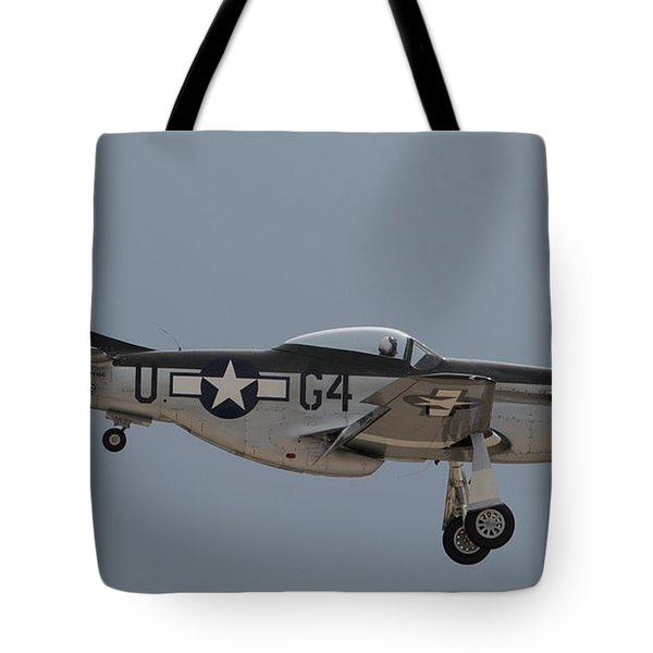 P-51 Landing Configuration Tote Bag