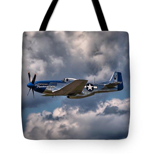 P-51 Mustang Tote Bag by Carsten Reisinger