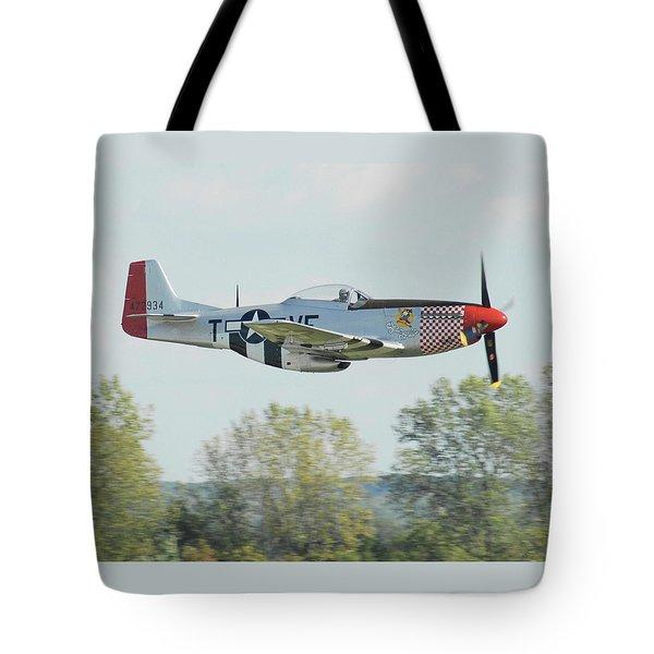 P-51d Mustang Shangrila Tote Bag