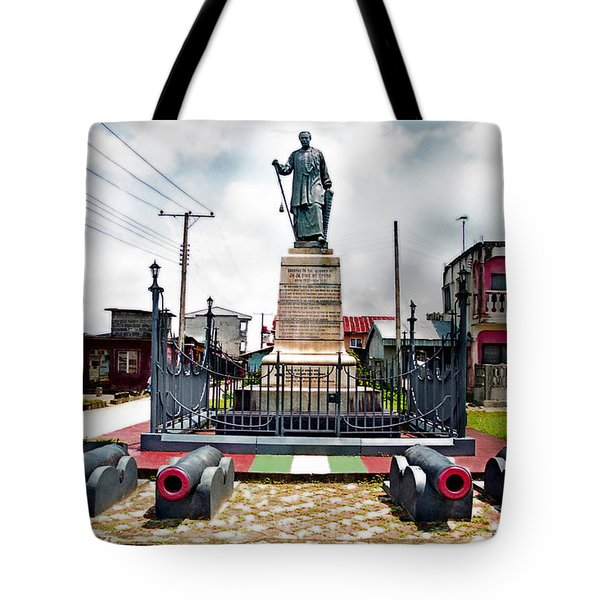 King Jaja's Mausoleum Tote Bag