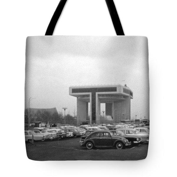 P O N Y A Building Tote Bag