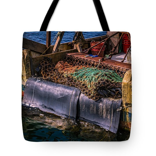 P-towns Fishing Troller  Tote Bag by Susan Candelario