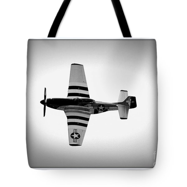 P51 King Of The Skies Tote Bag
