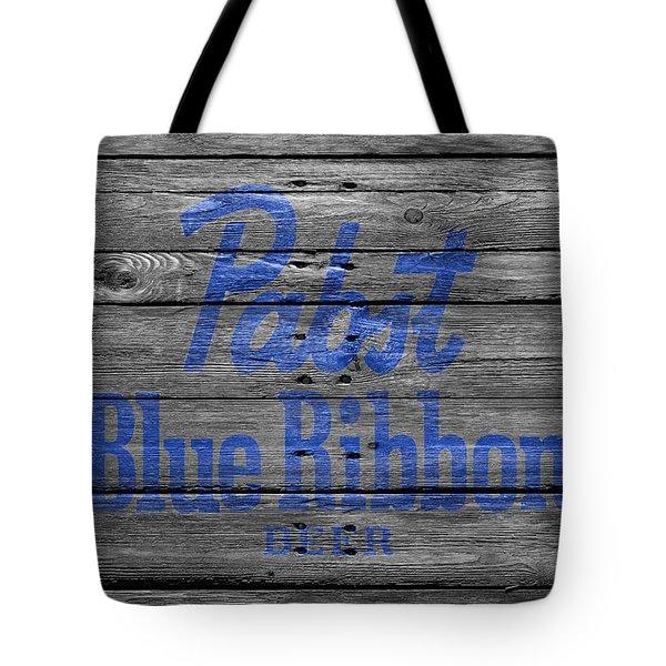 Pabst Blue Ribbon Tote Bag