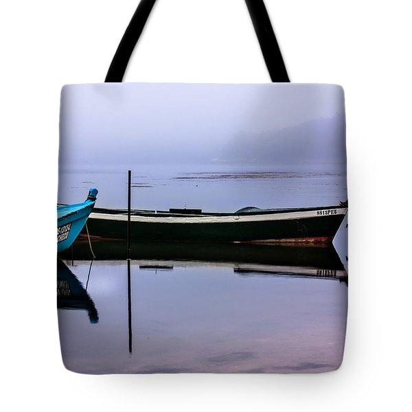 Pacheco Blue Boat Tote Bag