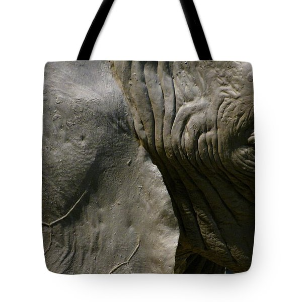 Tote Bag featuring the photograph Pachyderm by Jennifer Wheatley Wolf