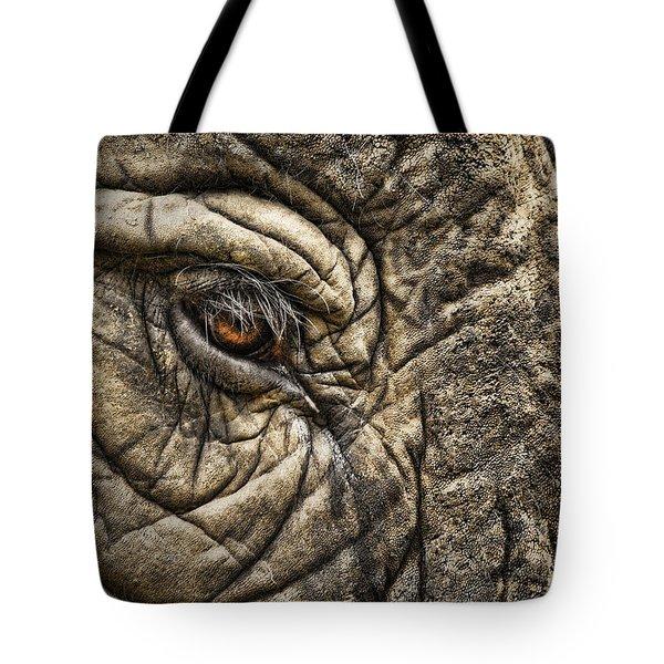 Pachyderm Skin Tote Bag by Daniel Hagerman