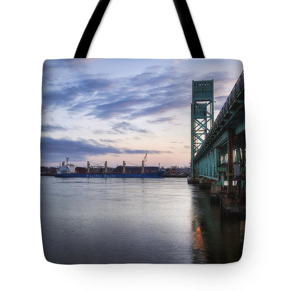 Pacific Basin Tote Bag by Eric Gendron