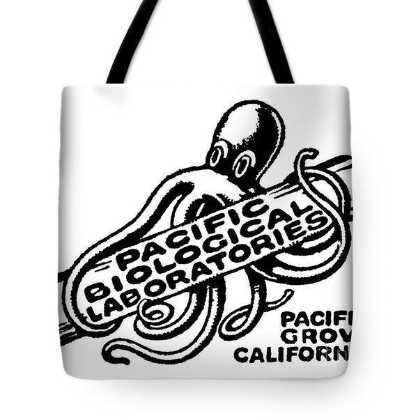 Pacific Biological Laboratories Of Pacific Grove Circa 1930 Tote Bag