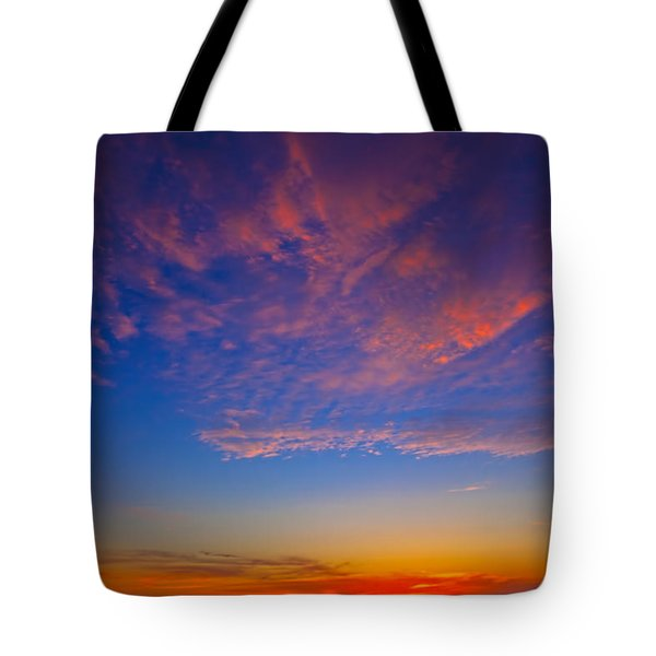 Pacific Coast Sunset Tote Bag by Garry Gay