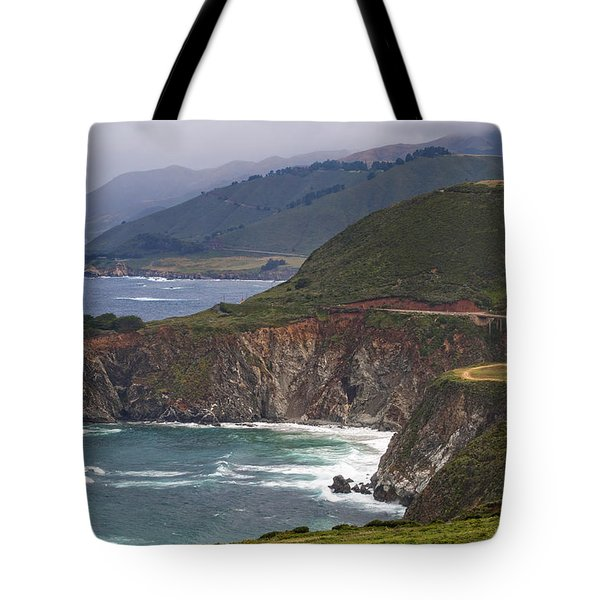 Pacific Coast View Tote Bag