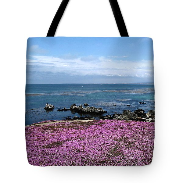 Tote Bag featuring the photograph Pacific Grove California by Joyce Dickens