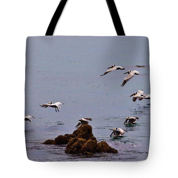 Pacific Landing Tote Bag
