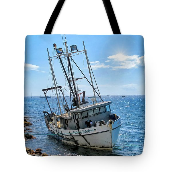 Pacific Maid 2 Tote Bag by Dawn Eshelman