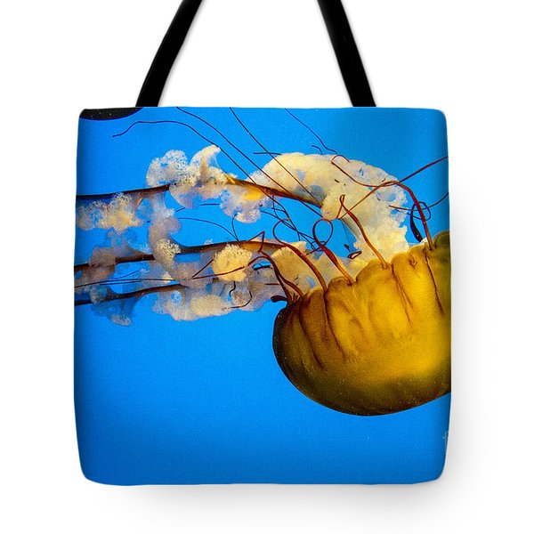 Pacific Nettle Jellyfish Tote Bag