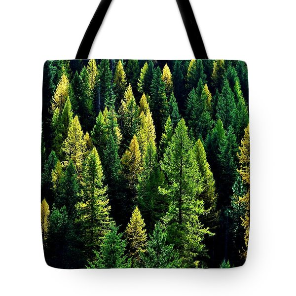 Tote Bag featuring the photograph Pacific Northwest Autumn by Benjamin Yeager