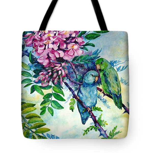 Pacific Parrotlets Tote Bag