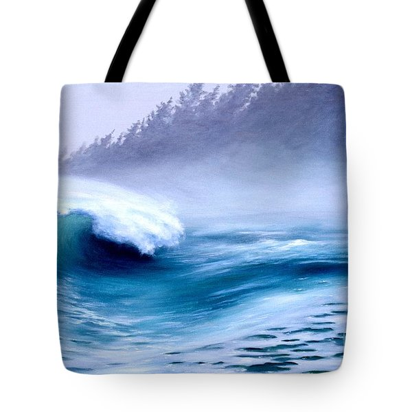 Pacific Power  Tote Bag by Michael Swanson