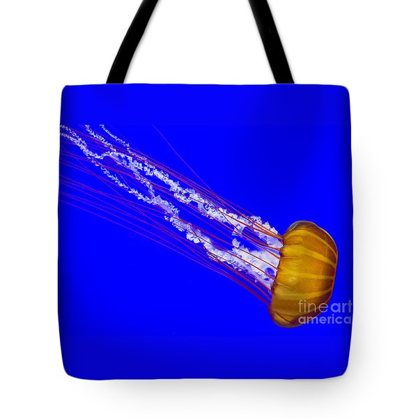 Pacific Sea Nettle Tote Bag