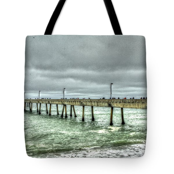 Pacifica Municipal Fishing Pier 7 Tote Bag