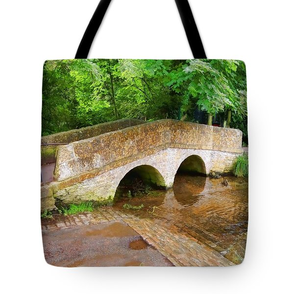 Pack Horse Bridge Tote Bag
