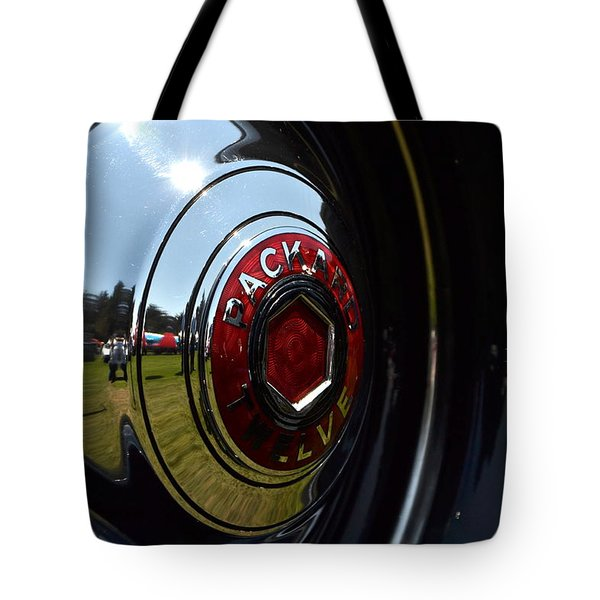 Tote Bag featuring the photograph Packard - 2 by Dean Ferreira