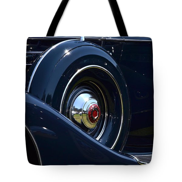 Tote Bag featuring the photograph Packard - 1 by Dean Ferreira