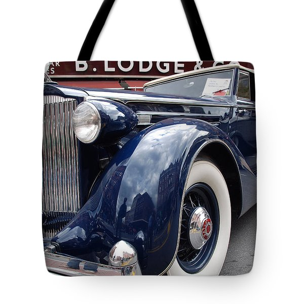 Tote Bag featuring the photograph Packard 1207 Convertible 1935 by John Schneider